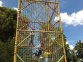 Cage à grimper avec enfants