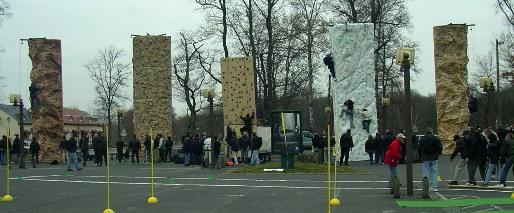 5 murs d'escalade différents