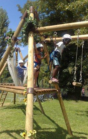 Parcours aventure pour enfant