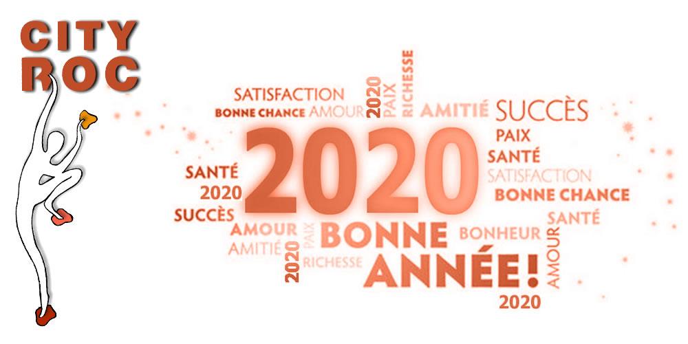 Bonne et heureuse année 2020 à tous !