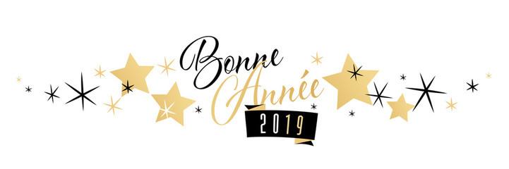 Bonne Année 2019 à toutes et à tous !